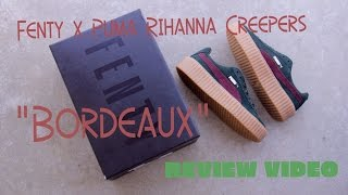 Rihanna Fenty x Puma Creeper Review '16
