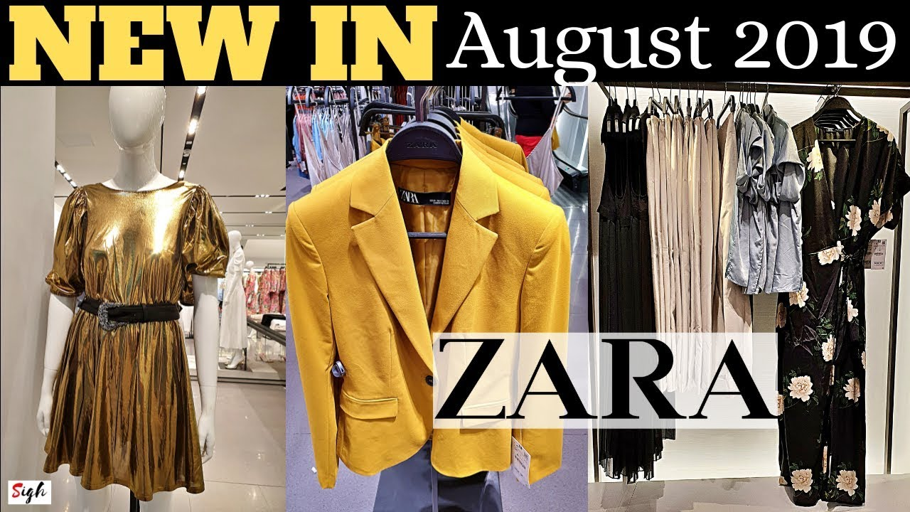 4faf8cba ZARA NEW Collection #AUGUST2019 Ladies * Shoes * Bags