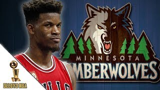 Timberwolves looking to trade #7 pick for jimmy butler!!!
