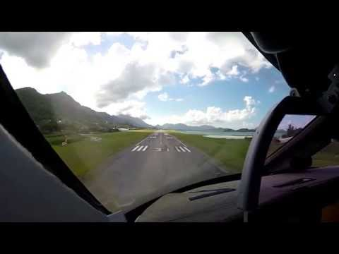 HD The Pilot's view: Approach & Landing Gulfstream 550