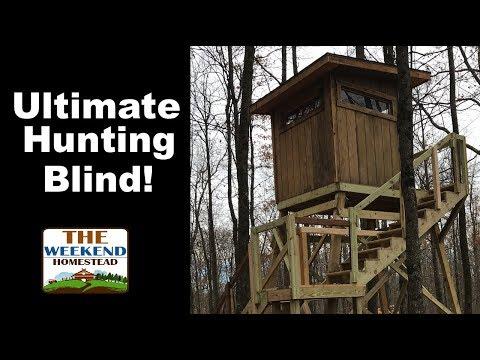 Ultimate Box Blind Tour - Deer Hunting Box Blind - Wisconsin Hunting Blind