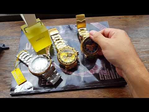 Relógio InvictaProDiver Cronógrafo2507525076 e 25077