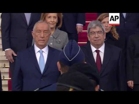 Portugal - New Portuguese President Marcelo Rebelo de Sousa is sworn in