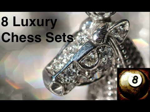 8 Luxury Chess Sets