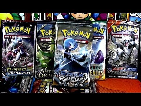 CARTAS POKÉMON! ASEDIO DE VAPOR 5 SOBRES - Steam Siege