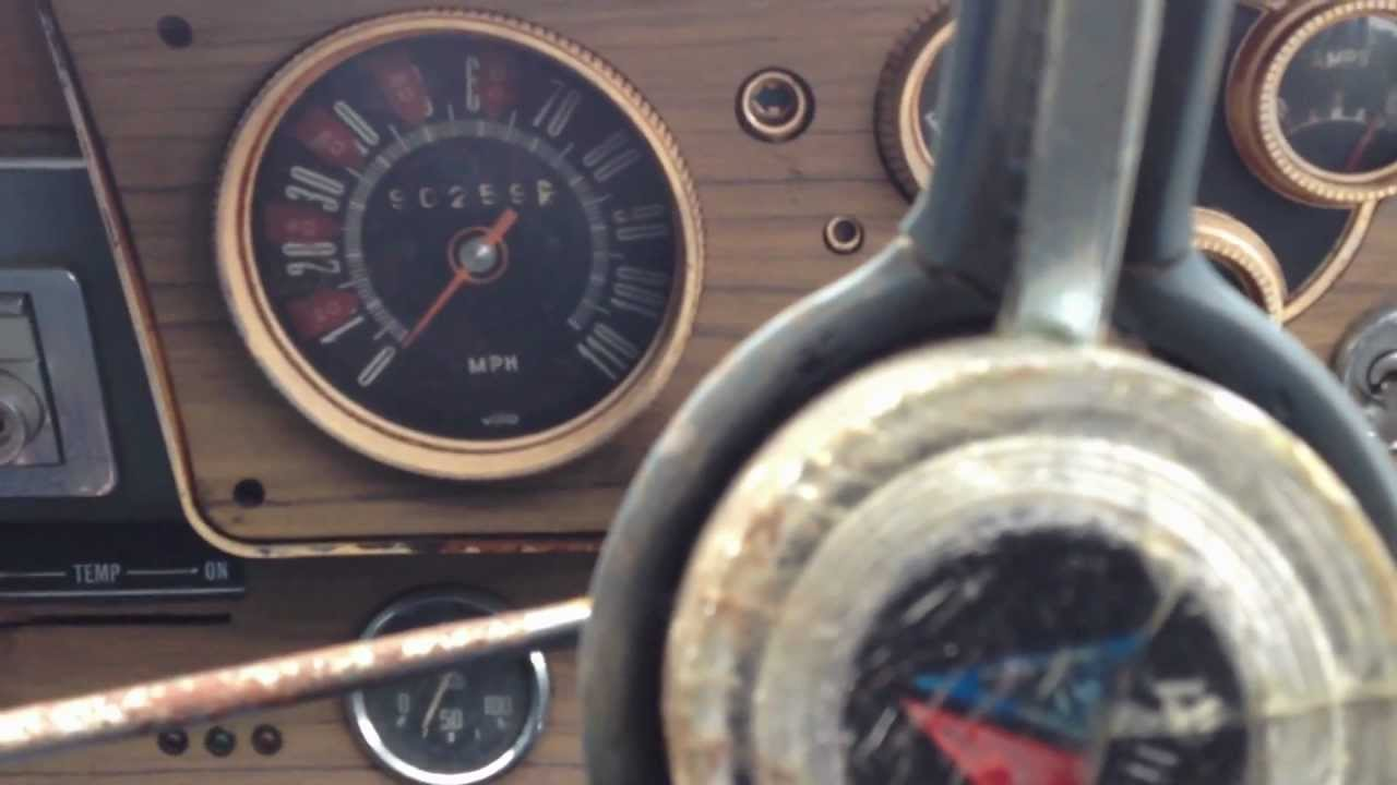 First Run of 1964 Valiant AP5 in 14 Years - YouTube