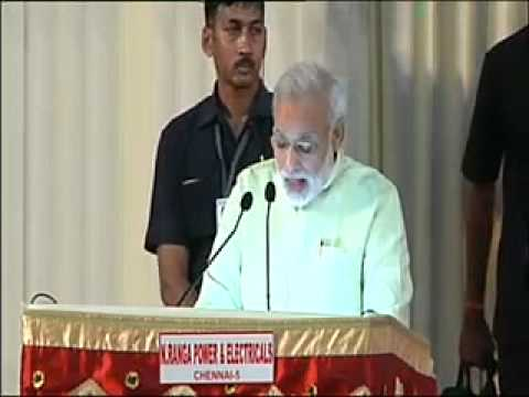 "Shri Narendra Modi delivers memorial lecture on ""India and the World"", Chennai"