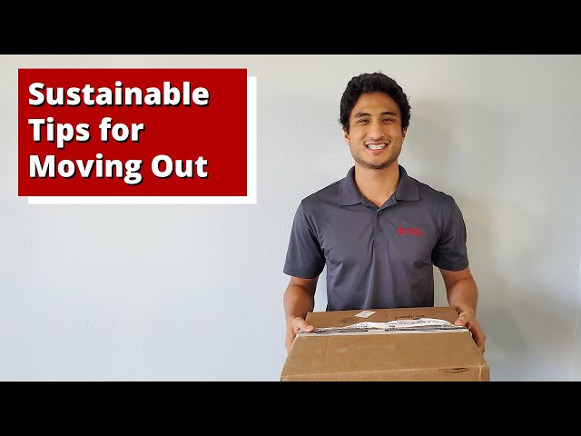 Sustainable Tips For Moving Out 📦♻️