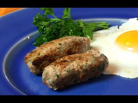 Homemade Turkey Sausages