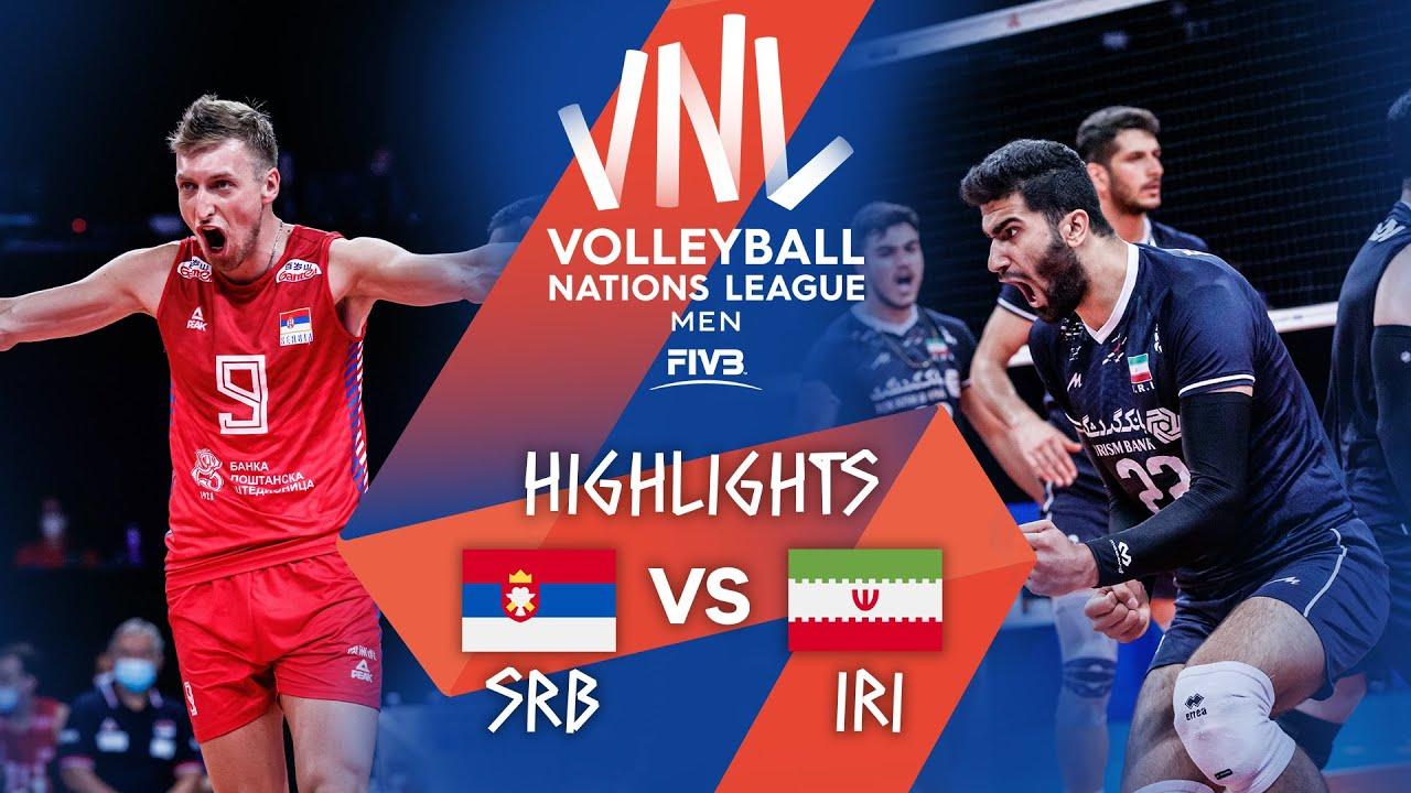 Download SRB vs. IRI - Highlights Week 3 | Men's VNL 2021