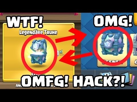 OMG! Clash Royale HACK!   FREE LEGENDARY CHEST! NO FAKE   Clash Royale deutsch 1