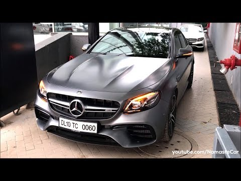 Mercedes-AMG E 63 S 4Matic+ 2018 | Real-life review