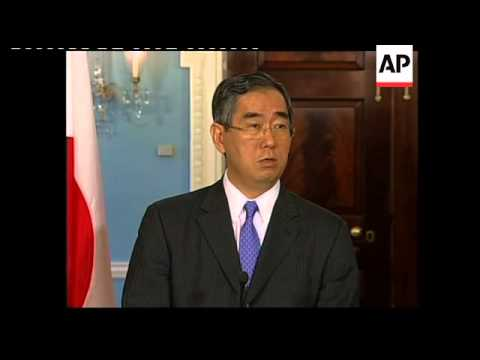 Japan's Foreign Minister extends condolences to storm victims