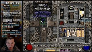 Diablo 2 - Baal Runs with the Javazon - Grinding xp to get level 97 03/11/2019