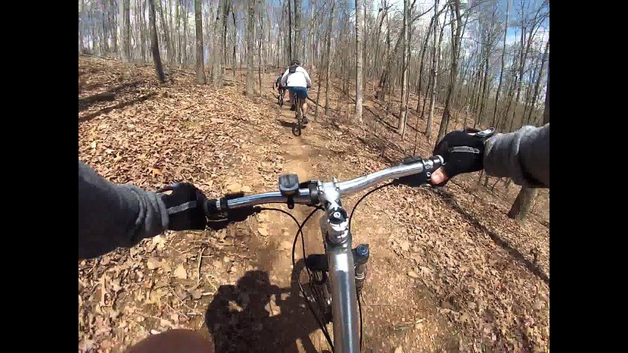 Charleston Park 2 Mountain Bike Trails Near Cumming Ga Youtube