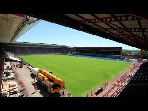Ashton Gate Rebuild - Full Timelapse