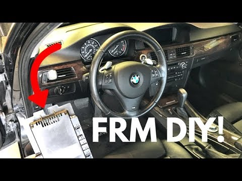How To Replace/Program Your BMW Footwell Module! DIY!