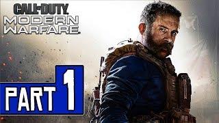 Call of Duty: MODERN WARFARE Walkthrough Part 1 (PS4 Pro) No Commentary @ 1080p (60ᶠᵖˢ) ✔