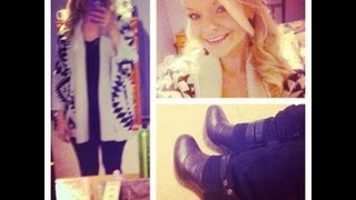 Outfit Ideas ~ Cute Cozy Sweaters Thumbnail