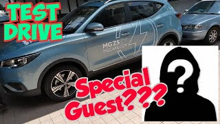 MG ZS EV TEST DRIVE (With The VP)