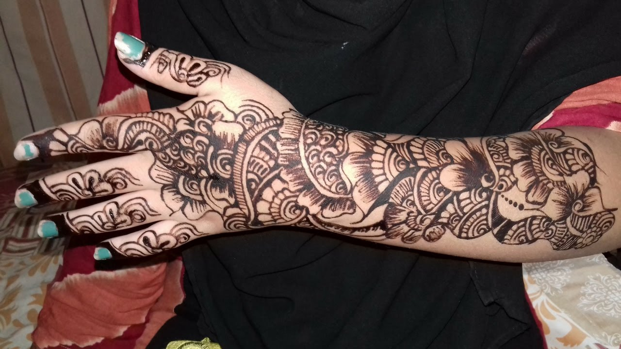Mehndi design 2017 ki - New Year Mehndi Design 2017 Indian Mehndi Design 2017