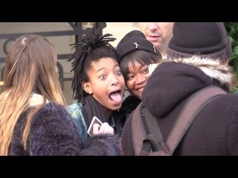 EXCLUSIVE: Jaden and Willow Smith put Paris and Colette boutique on fire