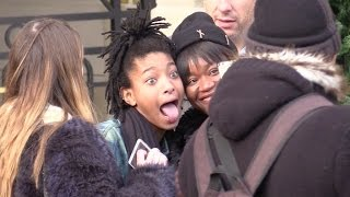 Baixar EXCLUSIVE: Jaden and Willow Smith put Paris and Colette boutique on fire