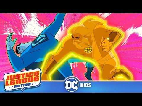 Justice League Action | The Power Of Zeus | DC Kids