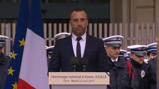 Hommage national à Xavier Jugelé: la déclaration de son compagnon