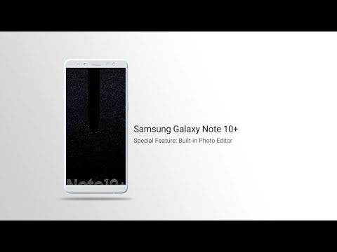 Samsung Galaxy Note 10+ Special Feature: Built-in Photo Editor