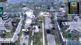 Heroic Vs Unlimited , C&C 3 : Kanes Wrath , 2v2 Vs Random Brutal Ai , Multiplayer Gameplay , HD