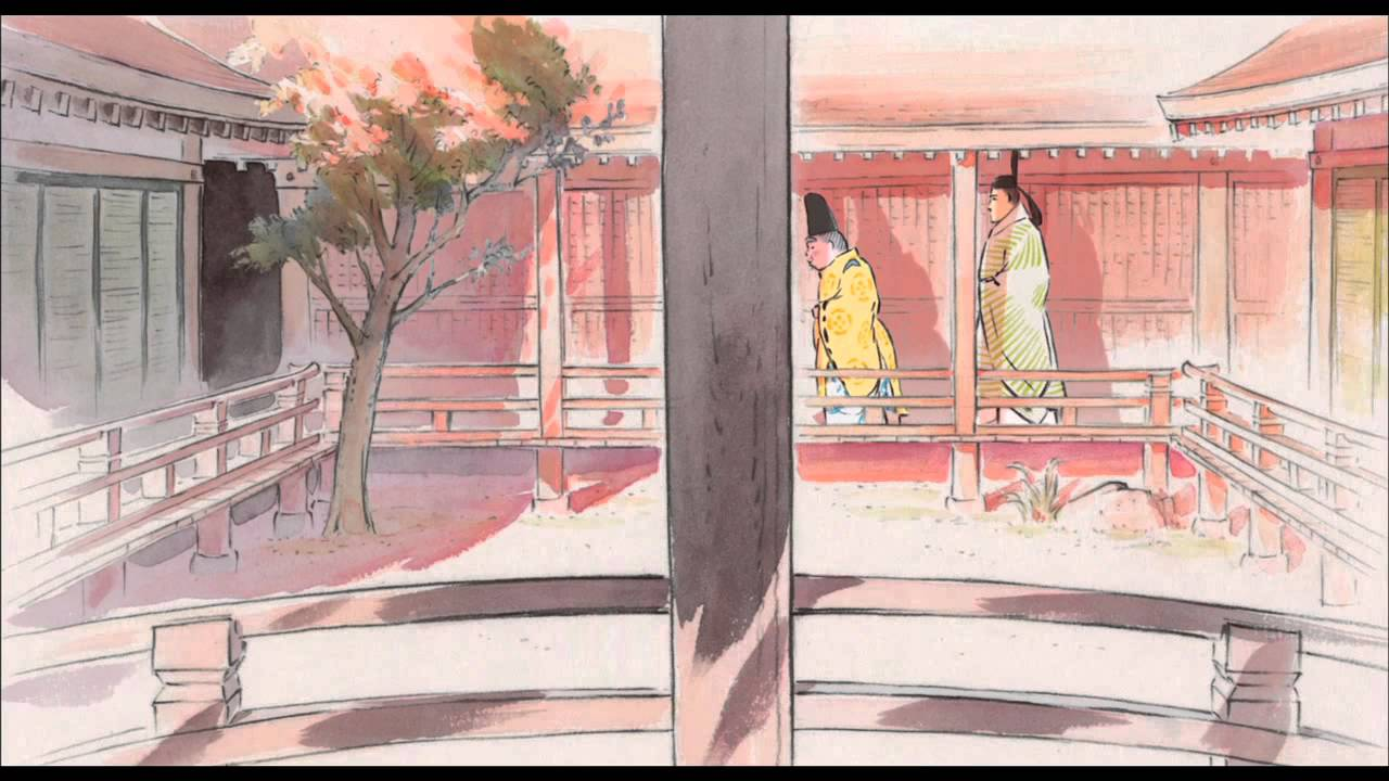 The Tale of The Princess Kaguya  [Official US Trailer]