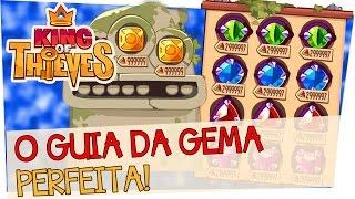 King of Thieves - Como fazer a Gema Perfeita! ★ 999999!