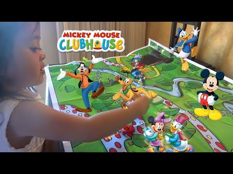 Mickey Mouse Clubhouse Treasure Hunt | Baby Playful