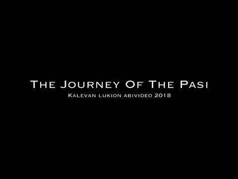 The Journey Of The Pasi   Kalevan lukion abielokuva 2018