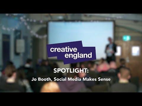 Be More Creative: Stoke - SPOTLIGHT - Jo Booth, Social Media Makes Sense