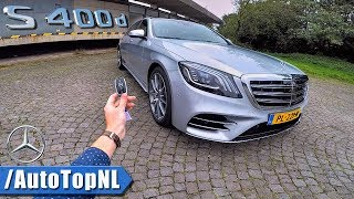 Mercedes-Benz S Class 2018 S400d REVIEW POV Test Drive by AutoTopNL