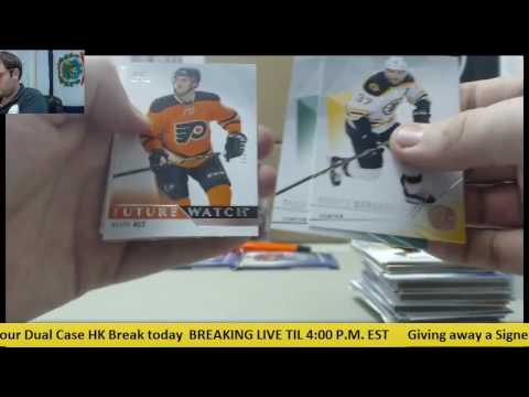 Tyler-(3) 2015-16 UD Sp Authetic Hk, (2) 2015 ICE HK Live Box Break