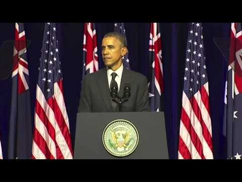 Obama on climate change at G20 2014