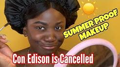 Con Edison Cuts off Power in Brooklyn | GRWM| UNice Hair Review
