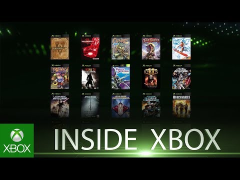 19 New Original Xbox Games On Backward Compatibility In April | Inside Xbox E2
