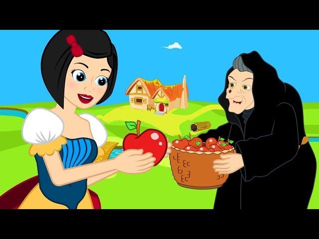 Putih Salju cerita anak anak animasi kartun