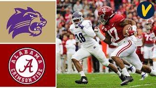 Western Carolina vs #5 Alabama Highlights | Week 13 | College Football 2019