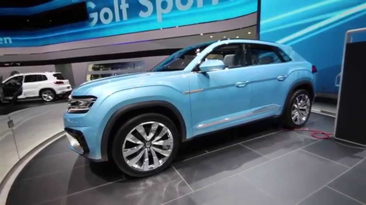 vw cross coupe plug in hybrid all wheel drive crossover phev youtube. Black Bedroom Furniture Sets. Home Design Ideas
