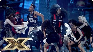 Misunderstood's fang-tastic performance of Thriller | Live Shows Week 3 | The X Factor UK 2018