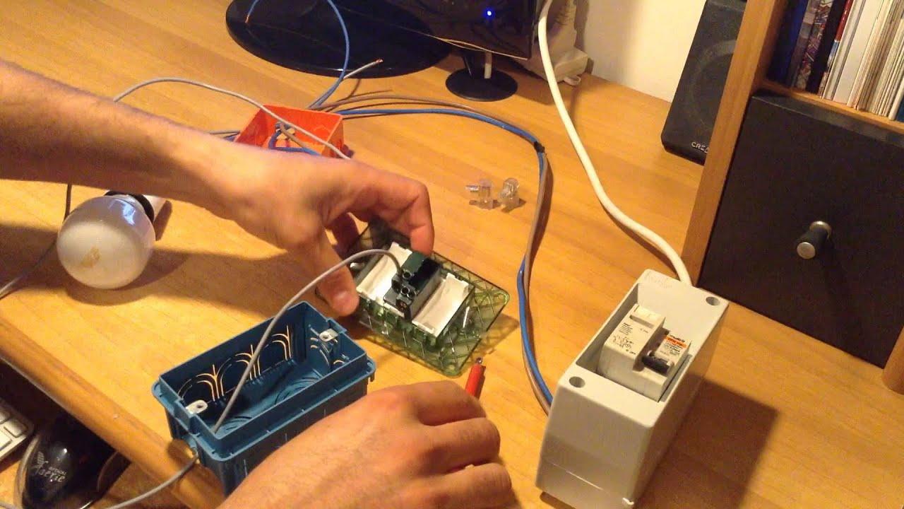 Schema Elettrico Presa Interruttore Lampadina : Come collegare una lampada all impianto elettrico attraverso un