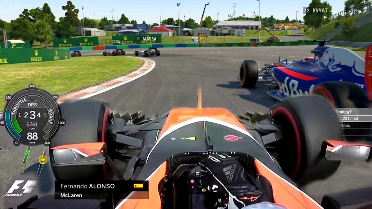 Igualmente recibo no usado  LAST TO ? CHALLENGE - Fernando Alonso 2017 Hungarian GP Challenge - YouTube