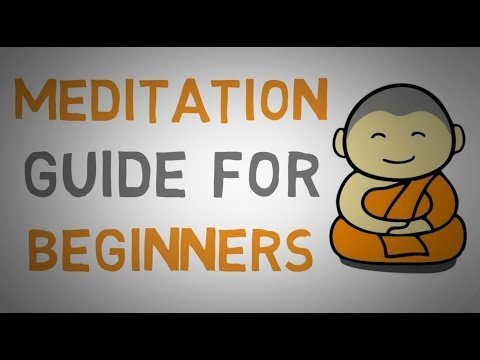 How to Meditate as a Beginner - Meditation Guide for Beginners (animated)
