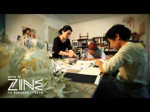 Here is ZINE 7th Bangkok - Tokyo : Artists Lineup 002