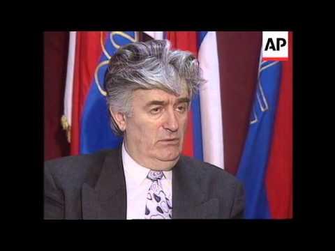 Bosnia - Karadzic interview